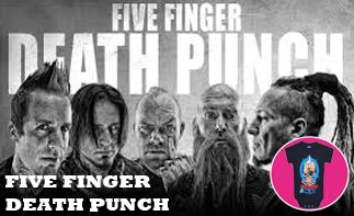 Five Finger Death Punch rock baby kleding
