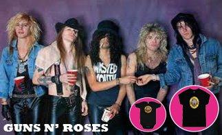 Guns 'N Roses rock baby kleding