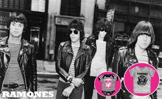 Ramones rock baby kleding