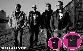 Volbeat rock baby kleding