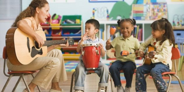 Music teacher for kids