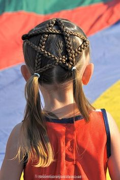 Festival braids for girls